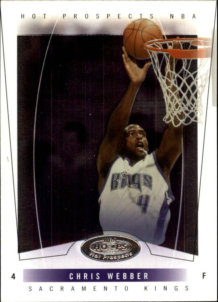 2004-05 Hoops Hot Prospects #17 Chris Webber