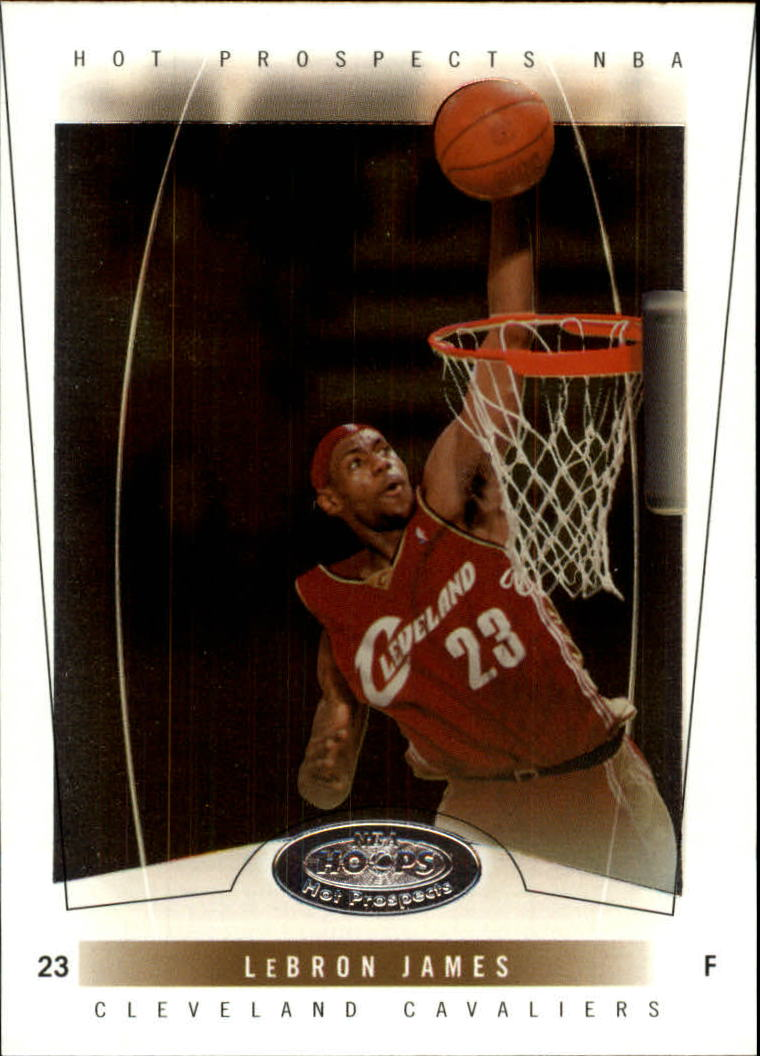 2004-05 Hoops Hot Prospects #54 LeBron James
