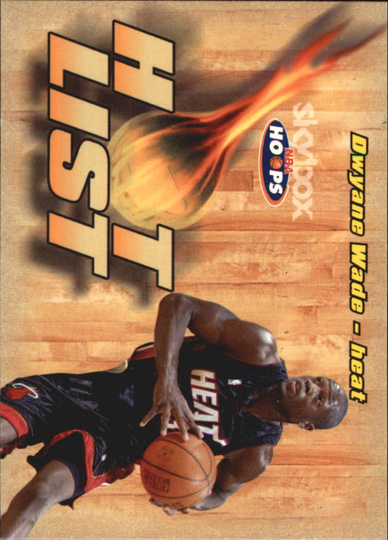 2004-05 Hoops Hot List #1 Dwyane Wade