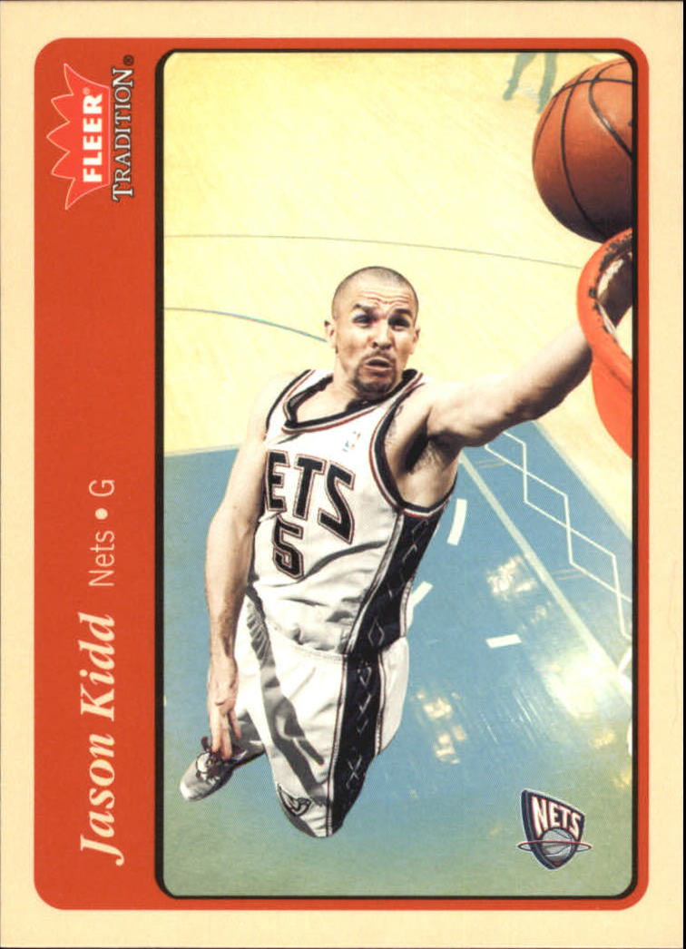 2004-05 Fleer Tradition #45 Jason Kidd