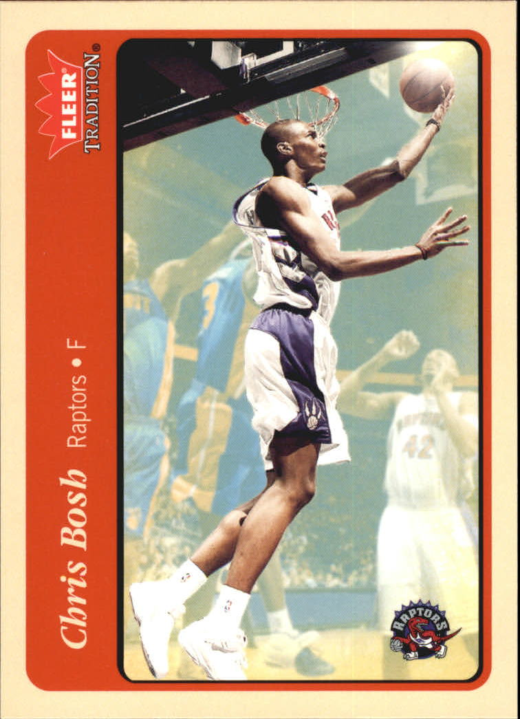 2004-05 Fleer Tradition #47 Chris Bosh