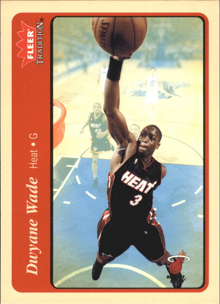 2004-05 Fleer Tradition #73 Dwyane Wade