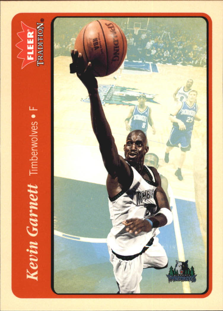 2004-05 Fleer Tradition #74 Kevin Garnett