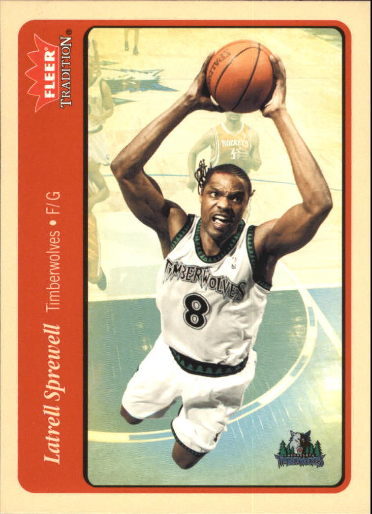 2004-05 Fleer Tradition #81 Latrell Sprewell