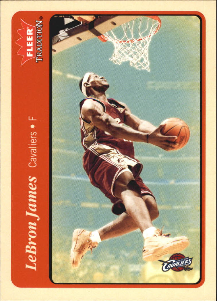 2004-05 Fleer Tradition #140 LeBron James