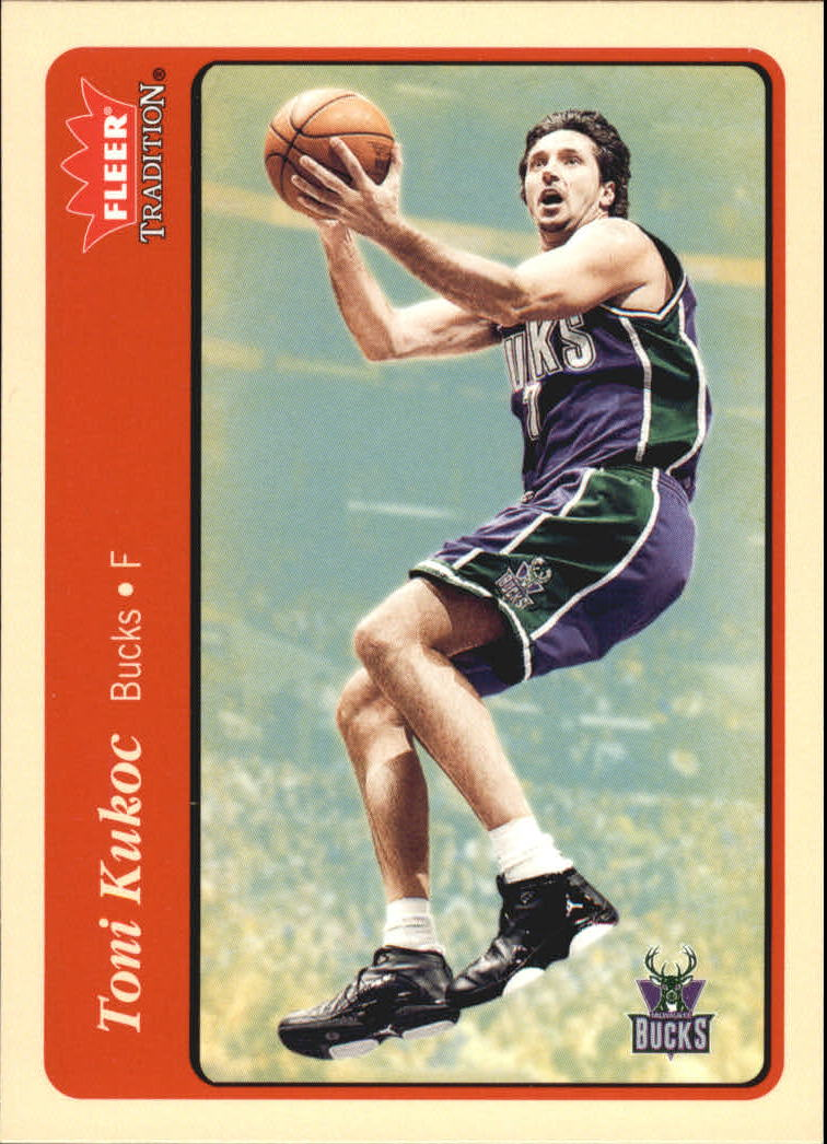 2004-05 Fleer Tradition #153 Toni Kukoc