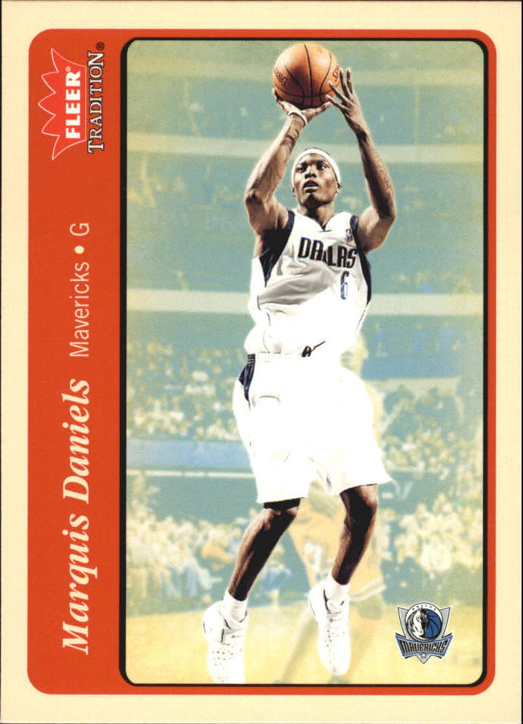 2004-05 Fleer Tradition #159 Marquis Daniels