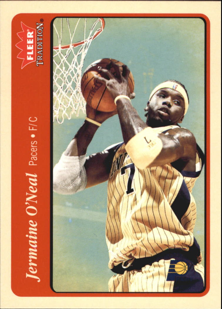 2004-05 Fleer Tradition #178 Jermaine O'Neal