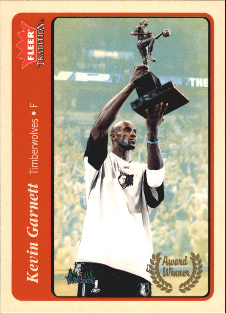 2004-05 Fleer Tradition #209 Kevin Garnett AW
