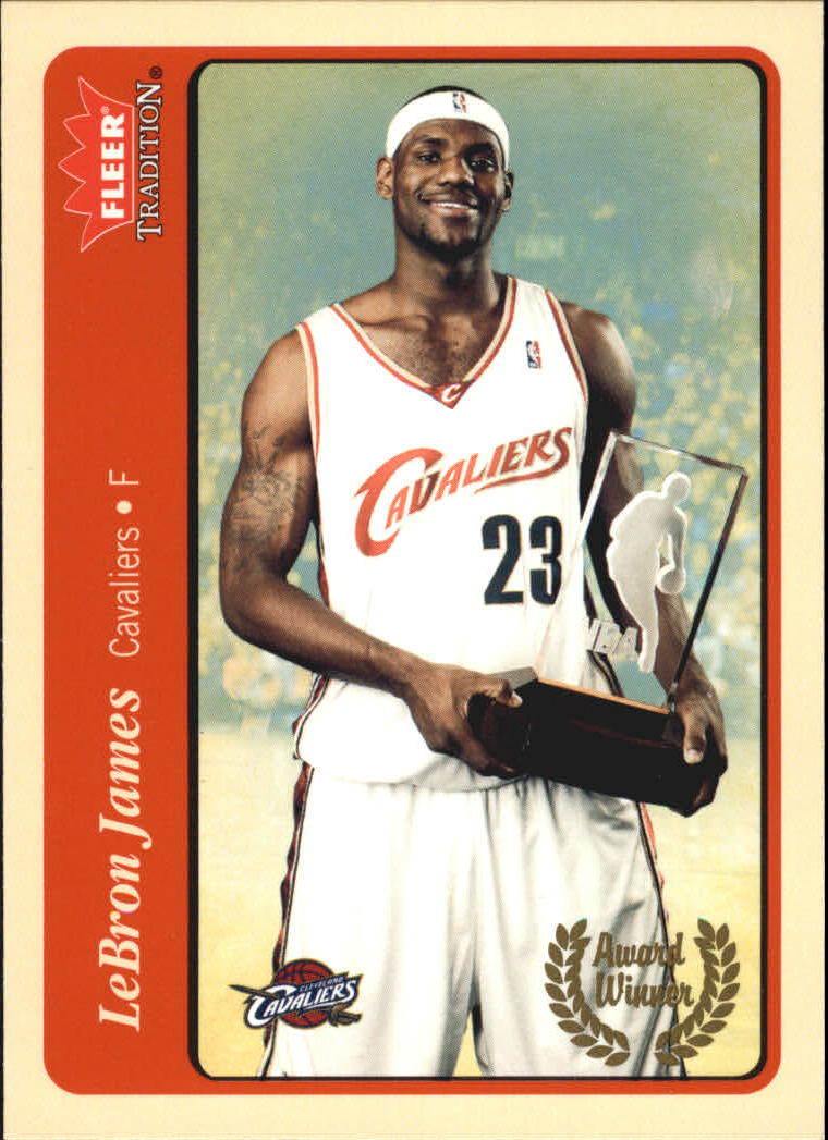 2004-05 Fleer Tradition #210 LeBron James AW