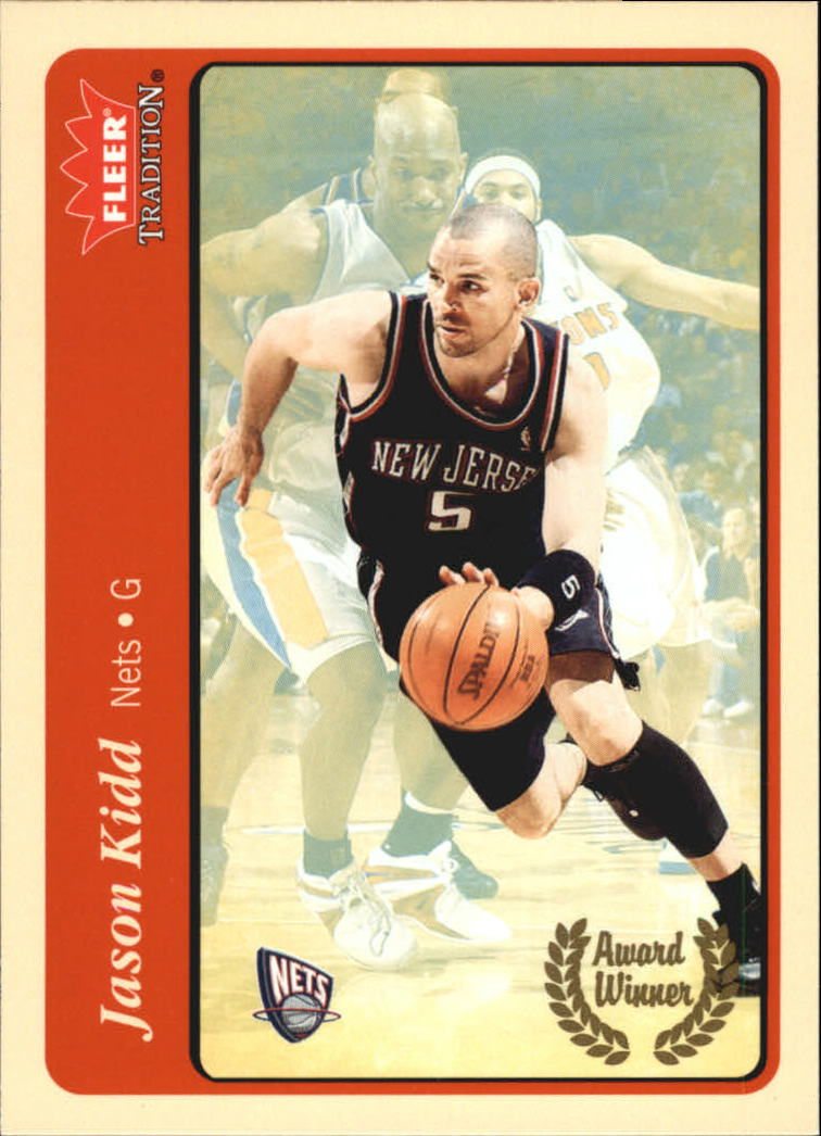 2004-05 Fleer Tradition #211 Jason Kidd AW