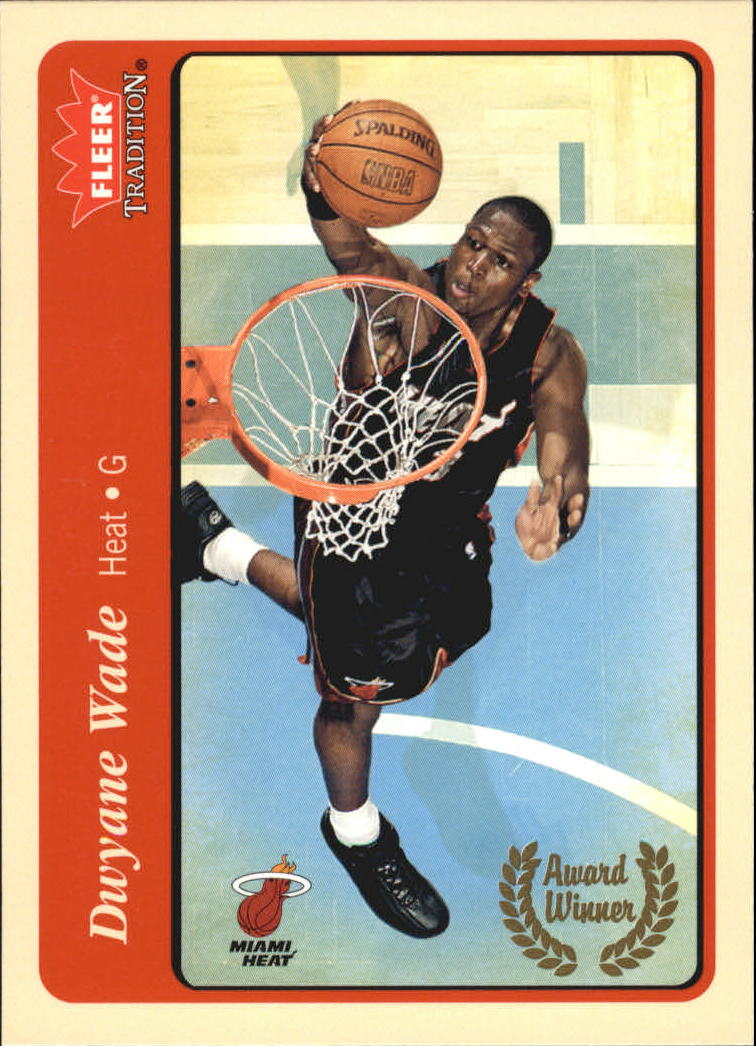 2004-05 Fleer Tradition #216 Dwyane Wade AW