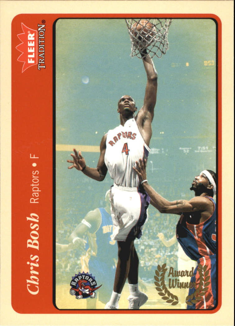 2004-05 Fleer Tradition #218 Chris Bosh AW