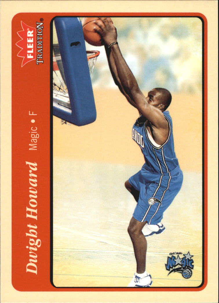 2004-05 Fleer Tradition #221 Dwight Howard RC front image