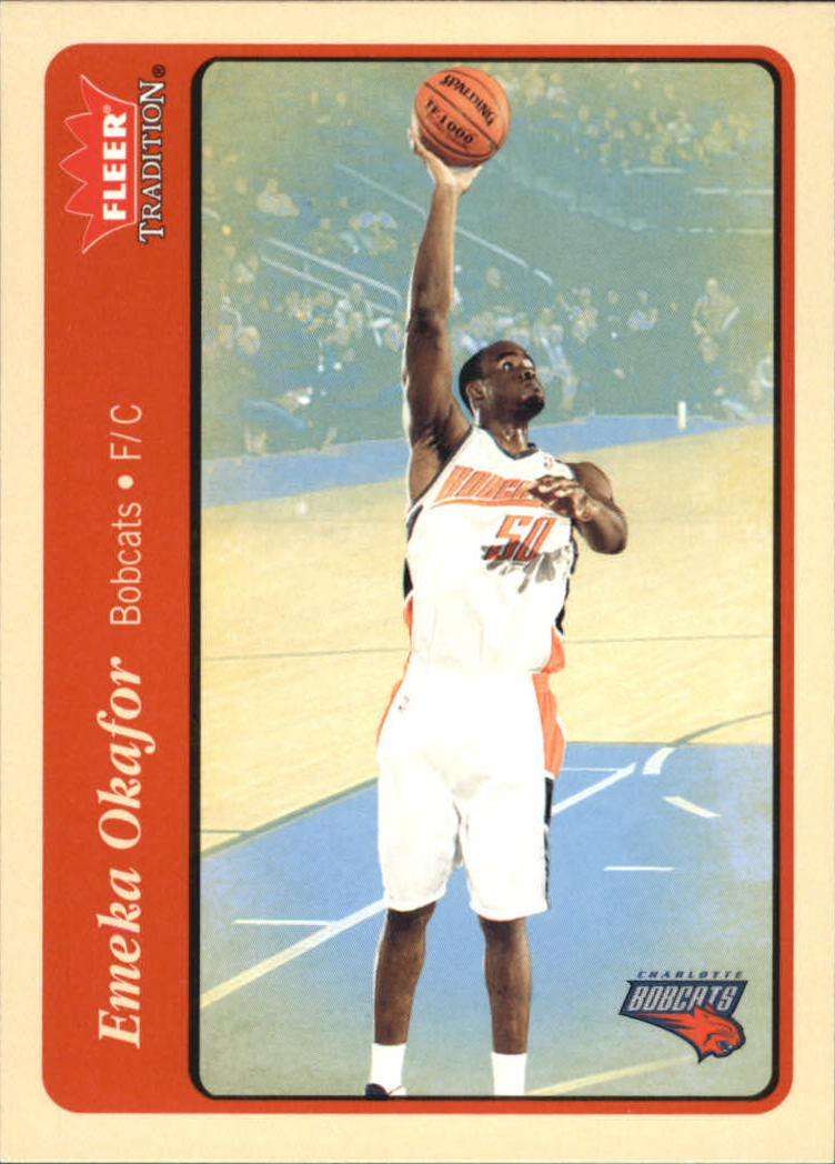 2004-05 Fleer Tradition #222 Emeka Okafor RC