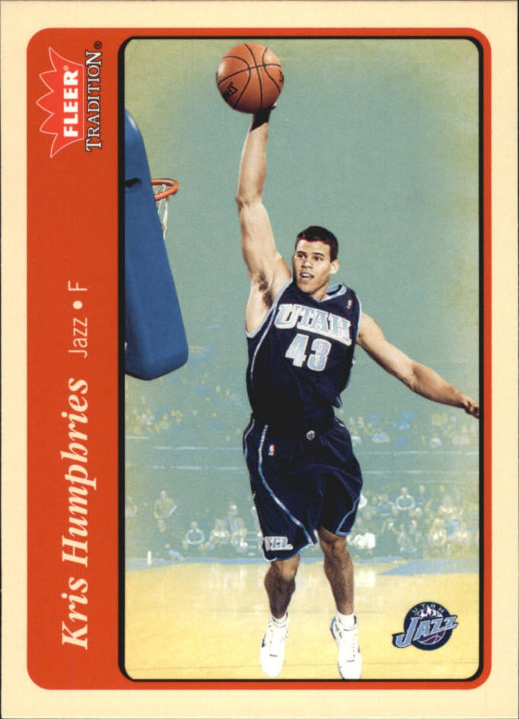 2004-05 Fleer Tradition #234 Kris Humphries RC