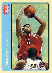 2004-05 Fleer Tradition Blue #21 Jalen Rose
