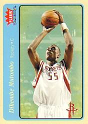 2004-05 Fleer Tradition Blue #41 Dikembe Mutombo