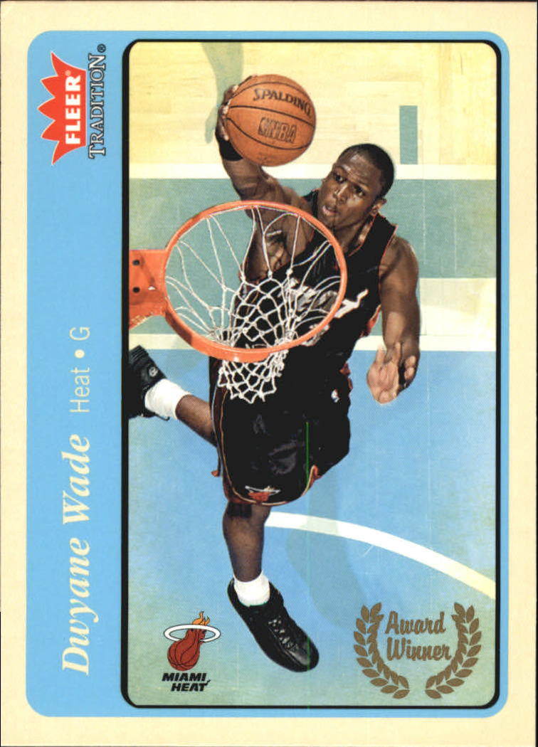 2004-05 Fleer Tradition Blue #216 Dwyane Wade AW