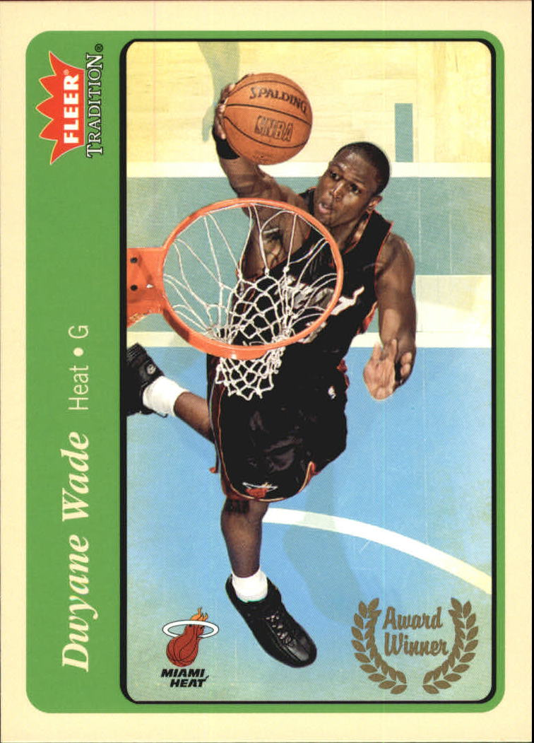2004-05 Fleer Tradition Green #216 Dwyane Wade AW
