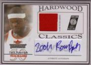 2004-05 Fleer Throwbacks Hardwood Classics Jerseys Autographs Silver #ZR Zach Randolph/149