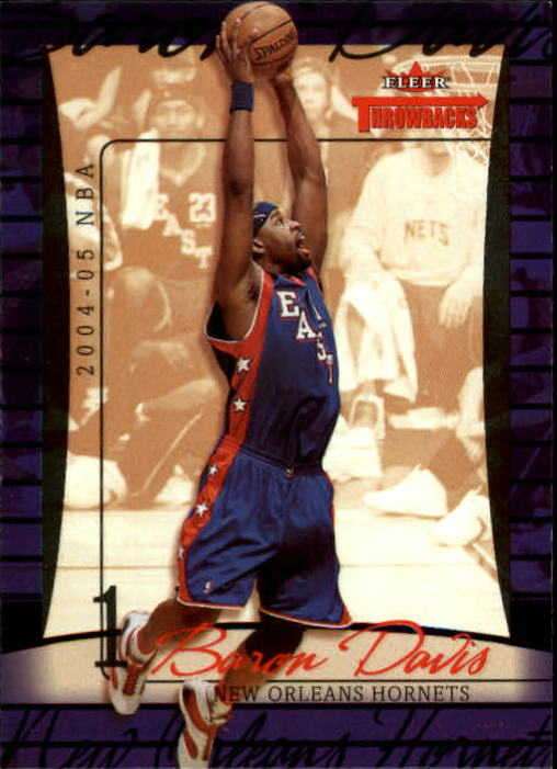 2004-05 Fleer Throwbacks #1 Baron Davis