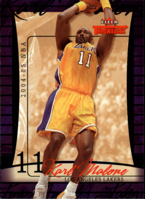 2004-05 Fleer Throwbacks #46 Karl Malone