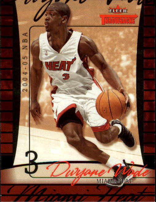 2004-05 Fleer Throwbacks #54 Dwyane Wade