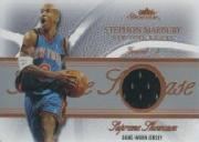 2004-05 Fleer Showcase Supreme Showcase Jerseys #SM Stephon Marbury