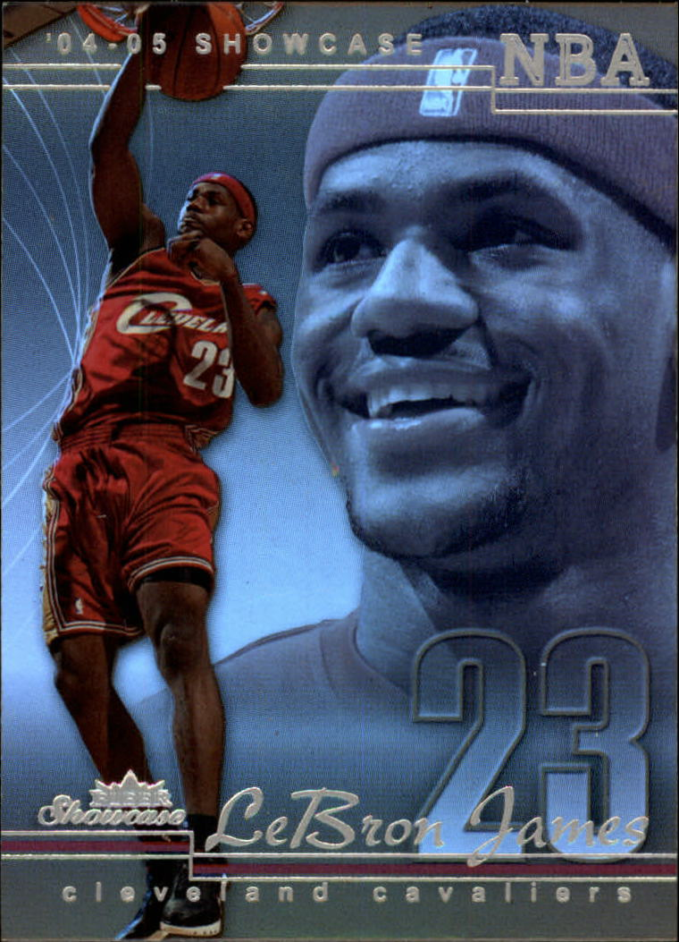 2004-05 Fleer Showcase #11 LeBron James