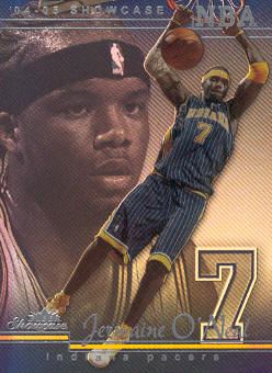 2004-05 Fleer Showcase #67 Jermaine O'Neal