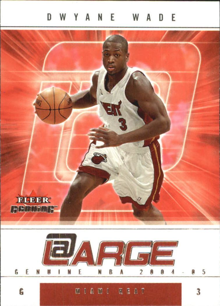 2004-05 Fleer Genuine At Large #4 Dwyane Wade