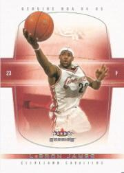 2004-05 Fleer Genuine #26 LeBron James