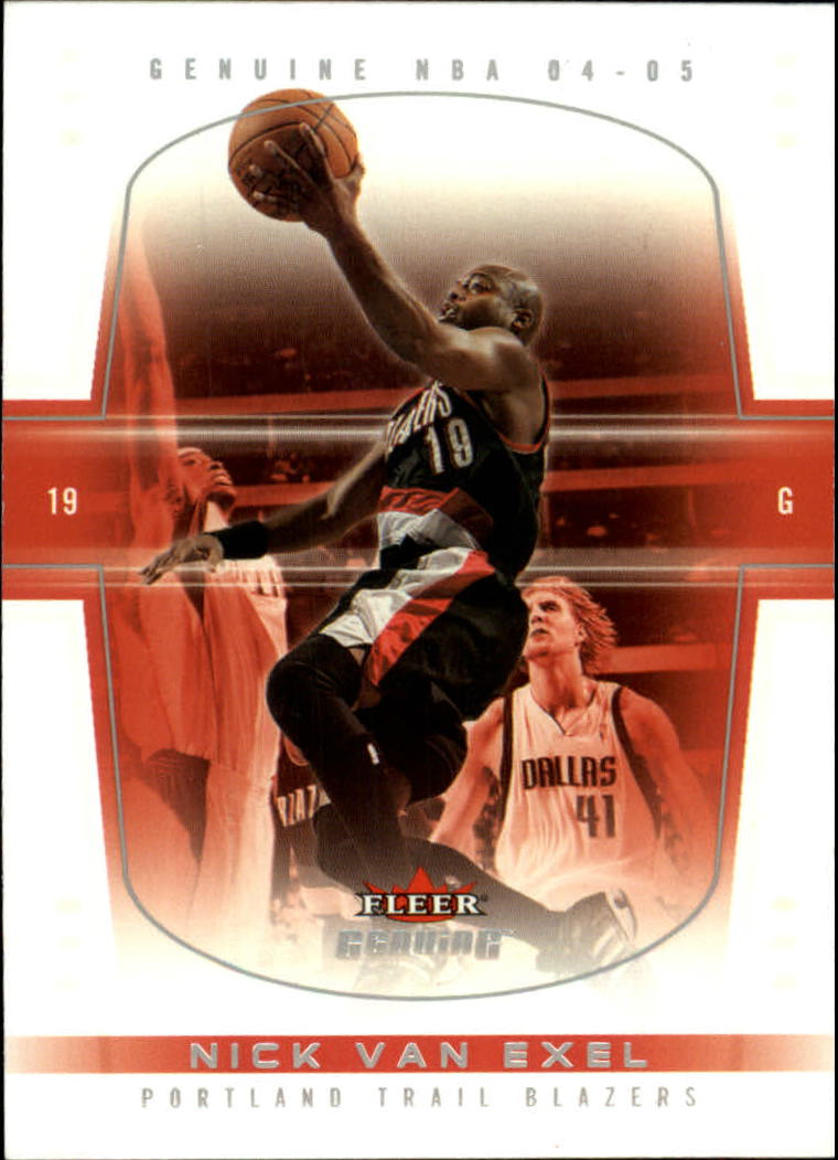 2004-05 Fleer Genuine #100 Nick Van Exel