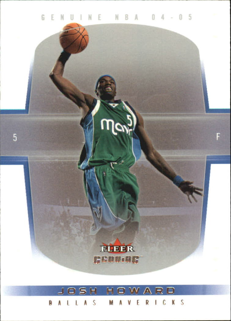 2004-05 Fleer Genuine 100 #4 Josh Howard