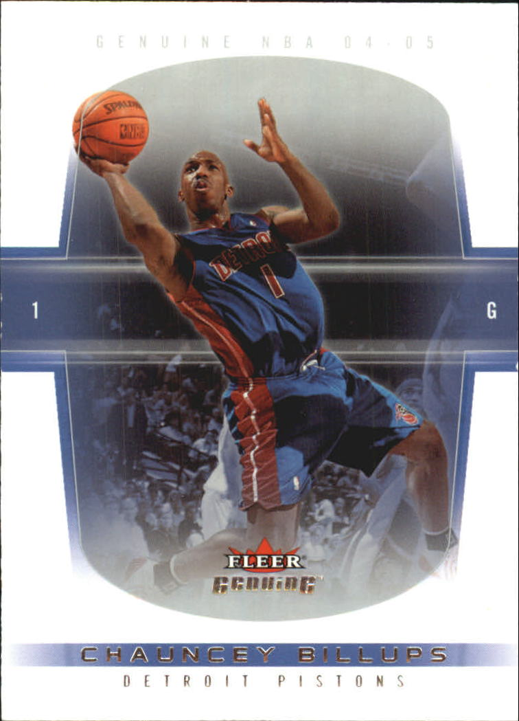 2004-05 Fleer Genuine 100 #8 Chauncey Billups