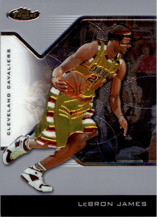 2004-05 Finest #23 Lebron James