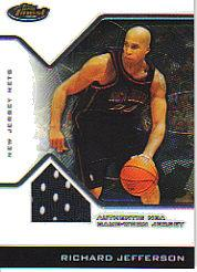 2004-05 Finest #117 Richard Jefferson JSY