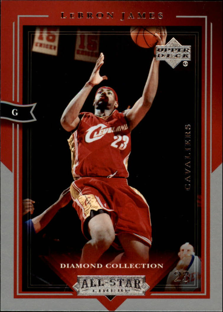 2004-05 Upper Deck All-Star Lineup #13 LeBron James