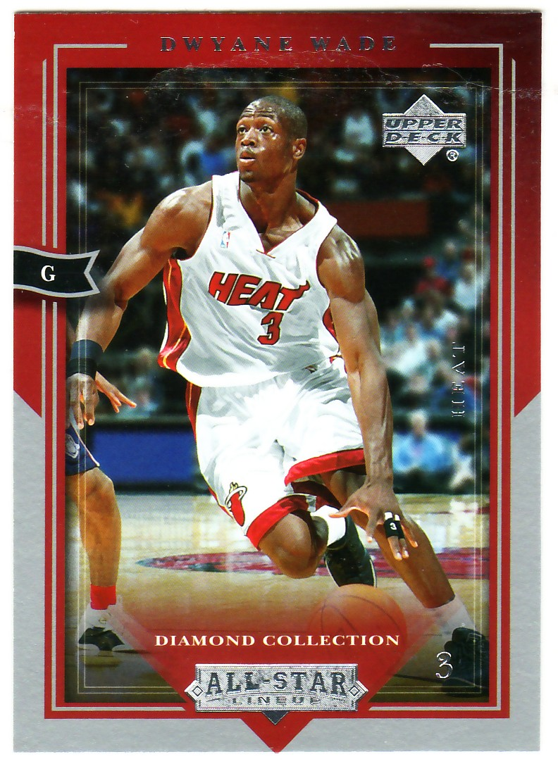 2004-05 Upper Deck All-Star Lineup #44 Dwyane Wade