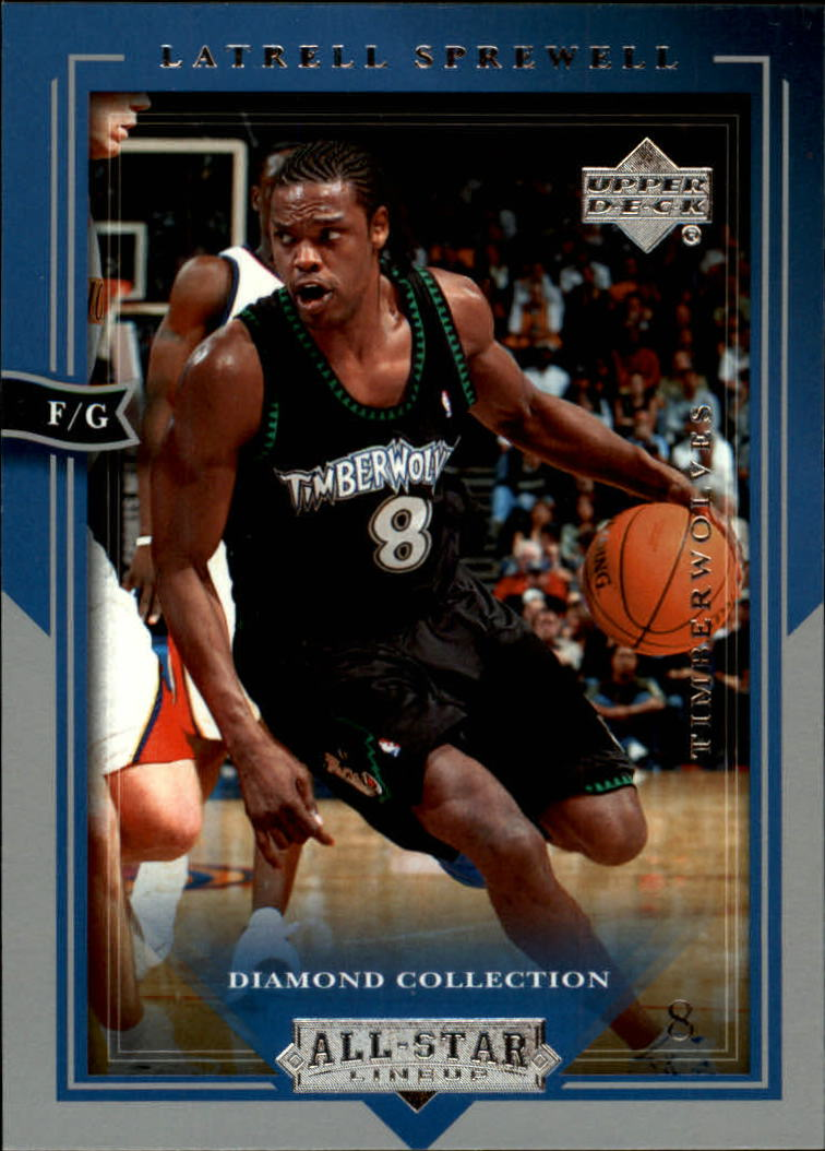 2004-05 Upper Deck All-Star Lineup #49 Latrell Sprewell