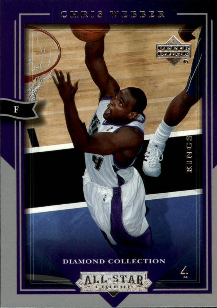 2004-05 Upper Deck All-Star Lineup #74 Chris Webber