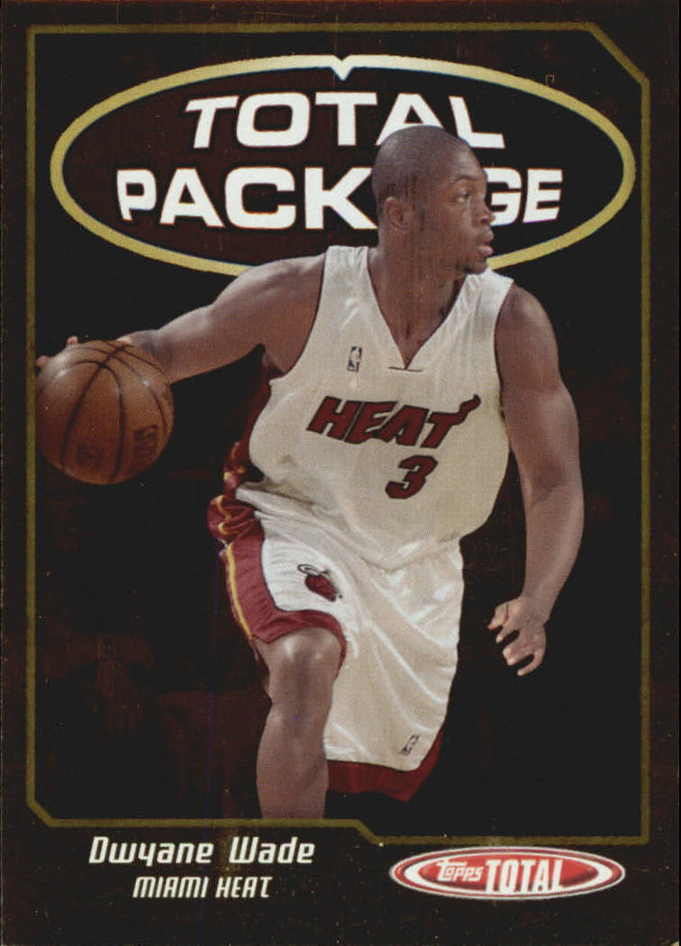 2004-05 Topps Total Package #TP4 Dwyane Wade