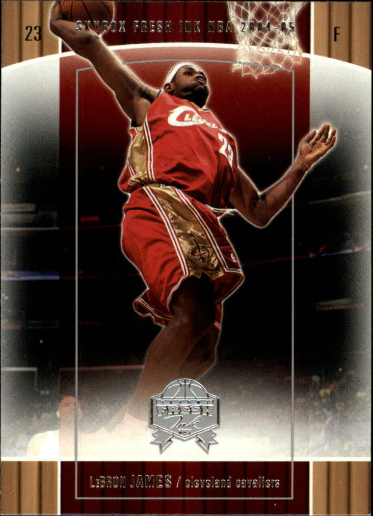 2004-05 SkyBox Fresh Ink #28 LeBron James