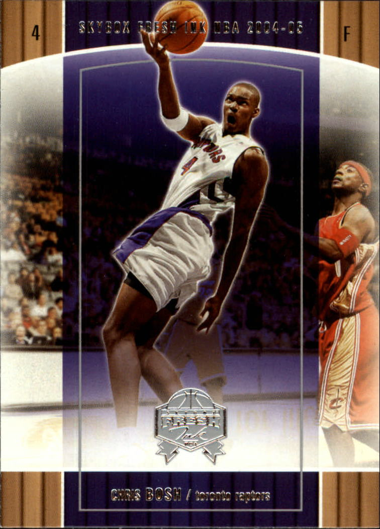 2004-05 SkyBox Fresh Ink #72 Chris Bosh