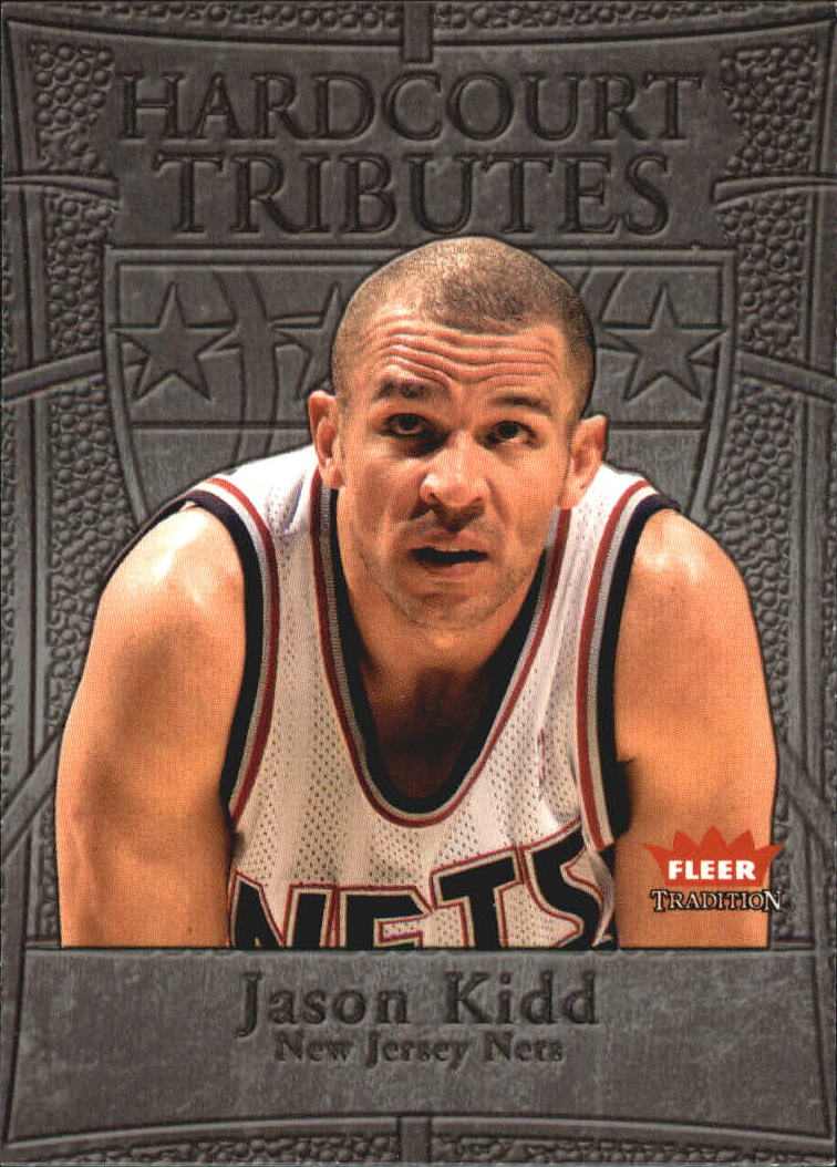 2004-05 Fleer Tradition Hardcourt Tributes #2 Jason Kidd