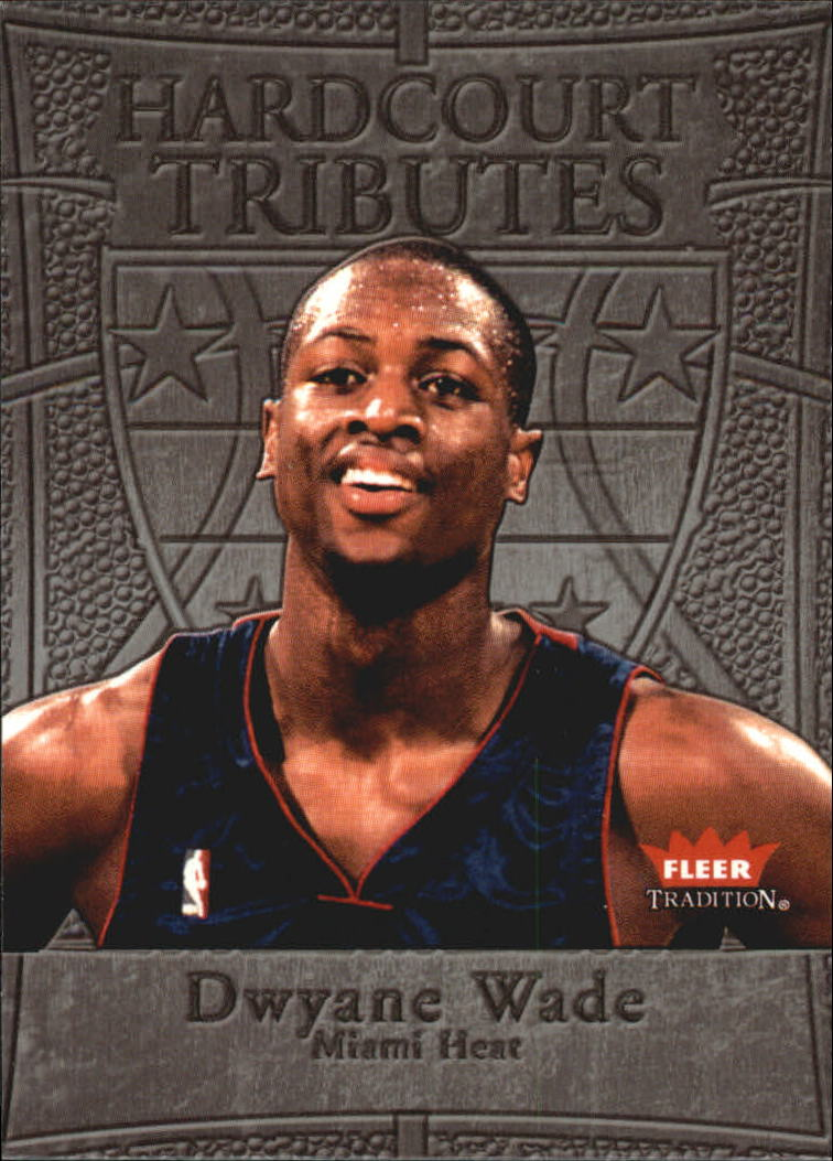2004-05 Fleer Tradition Hardcourt Tributes #3 Dwyane Wade