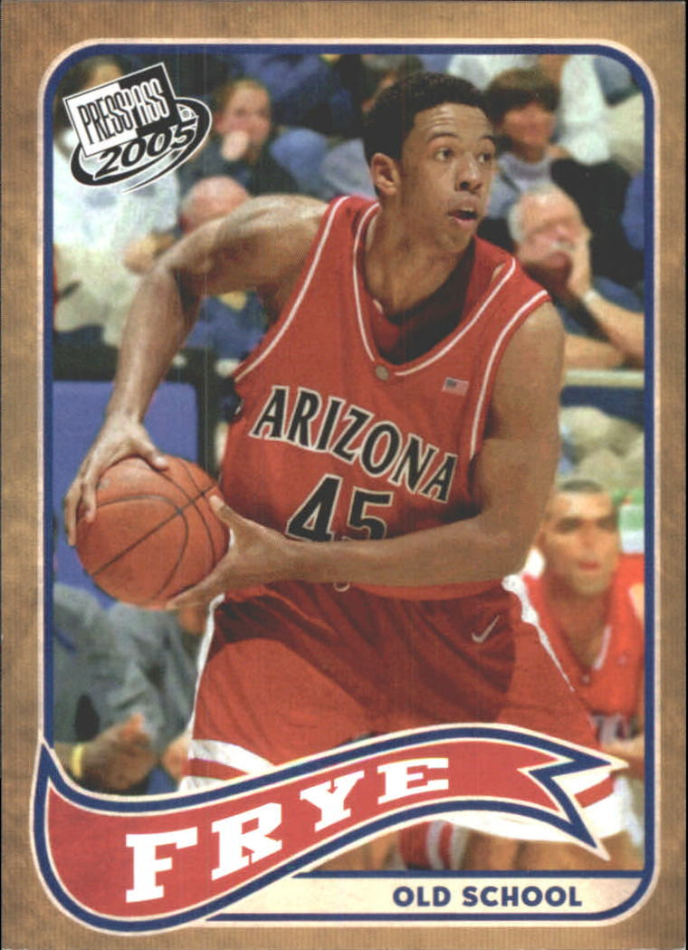 2005 Press Pass Old School #5 Channing Frye