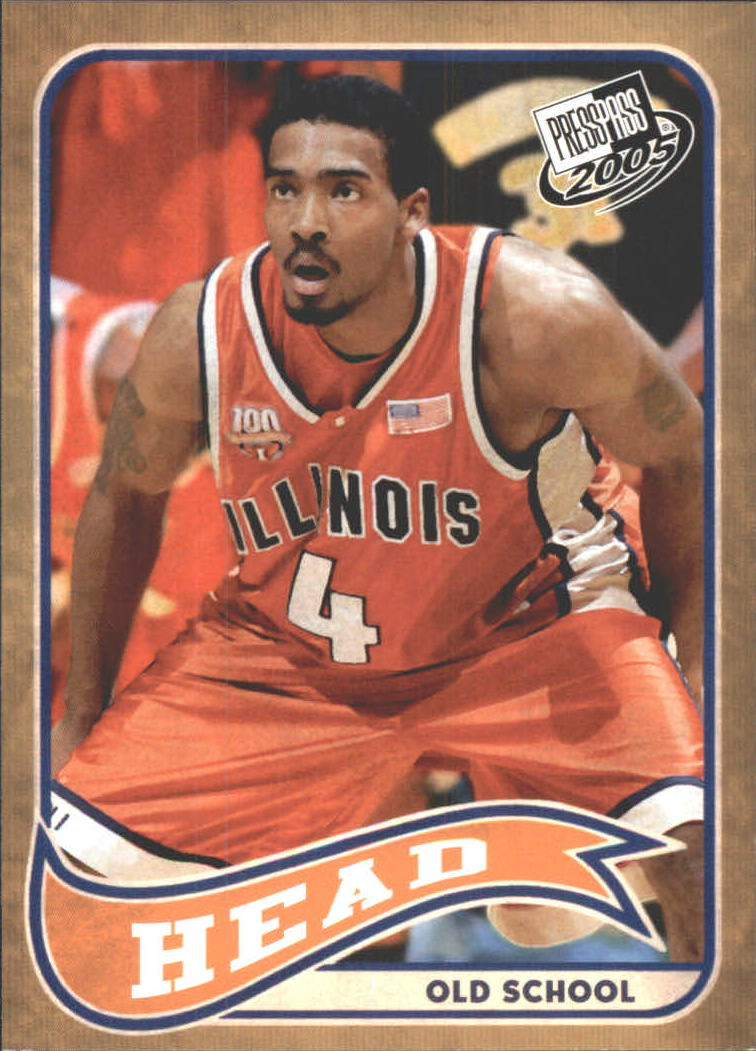 2005 Press Pass Old School #10 Luther Head