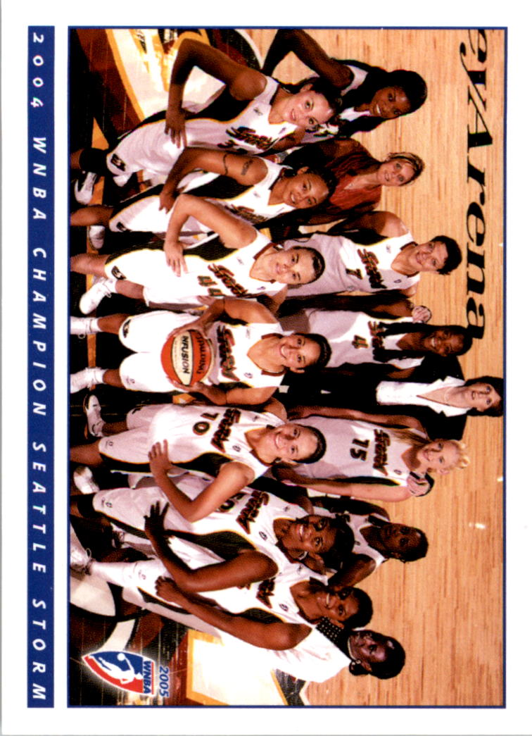 2005 WNBA #1 Seattle Storm TC